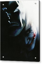 The Dark Knight 2008  Acrylic Print