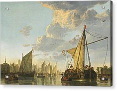 The Maas At Dordrecht -- Acrylic Print