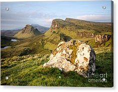 The Quiraing Acrylic Print