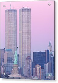 Usa, New York, Statue Of Liberty Acrylic Print
