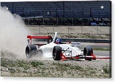 Utah Grand Prix Acrylic Print by Dennis Hammer