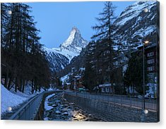 Zermatt - Switzerland Acrylic Print by Joana Kruse