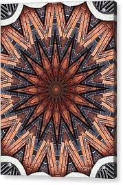 Unique Design Pattern Acrylic Print