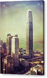 Acrylic Print featuring the photograph 88 Floors by Joseph Westrupp