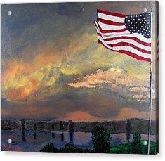 9 11 2001 Acrylic Print by Stan Hamilton