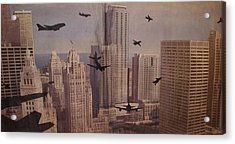 9-11-50 Acrylic Print by William Douglas