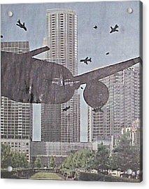 9-11-7 Acrylic Print by William Douglas