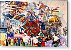 9/11 Memorial Acrylic Print