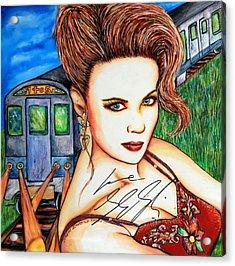 9 2 5 Train Acrylic Print by Joseph Lawrence Vasile