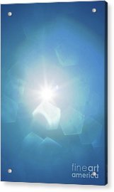 Acrylic Print featuring the photograph Abstract Sunlight by Atiketta Sangasaeng