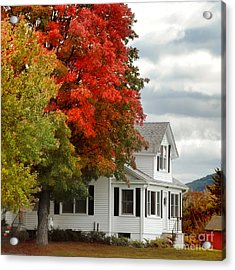 Autumn Series Acrylic Print by HD Connelly