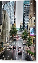 Charlotte North Carolina Views Around  Downtown Acrylic Print