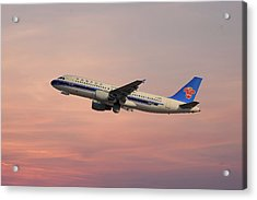 China Southern Airlines Airbus A320-214 Acrylic Print