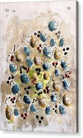Field Nuts Acrylic Print by Thomas Armstrong