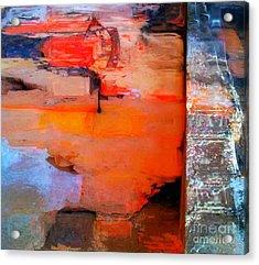 Goree Texture - Exploring Acrylic Print