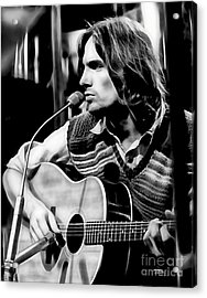 James Taylor Collection Acrylic Print by Marvin Blaine