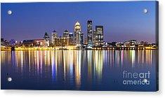 Louisville, Kentucky Skyline Acrylic Print