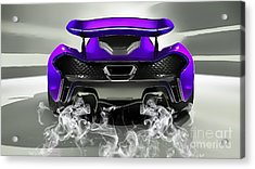 Mclaren P1 Collection Acrylic Print by Marvin Blaine