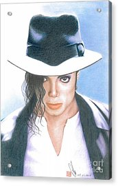 Michael Jackson #three Acrylic Print