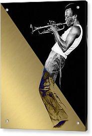 Miles Davis Collection Acrylic Print by Marvin Blaine