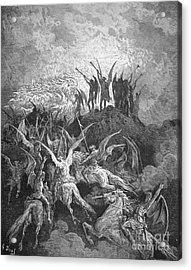 Milton: Paradise Lost Acrylic Print by Granger