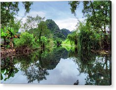 Ninh Binh - Vietnam Acrylic Print by Joana Kruse