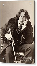 Oscar Wilde (1854-1900) Acrylic Print by Granger