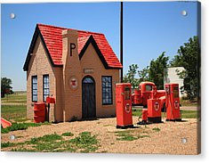 Route 66 - Phillips 66 Gas Station Acrylic Print