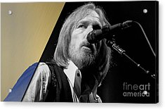 Tom Petty Collection Acrylic Print by Marvin Blaine