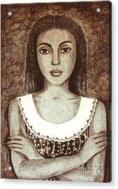 Untitled Acrylic Print by Padmakar Kappagantula