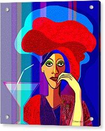 909 -   Summer   Cocktail Acrylic Print