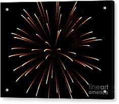 A 4th Of July Flower Acrylic Print