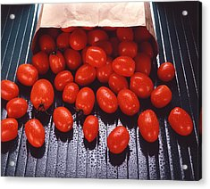 A Bag Of Tomatoes Acrylic Print by Steven Huszar