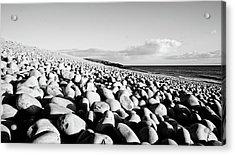 A Beach Of Stones Acrylic Print