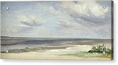 A Beach On The Baltic Sea At Laboe Acrylic Print by Jacob Gensler