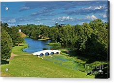 A Beautiful British Landscape Acrylic Print