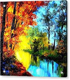 A Beautiful Day Acrylic Print