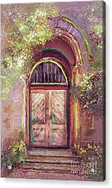 Acrylic Print featuring the digital art A Beautiful Mystery by Lois Bryan