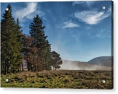 Acrylic Print featuring the photograph A Beautiful Scottish Morning by Jeremy Lavender Photography