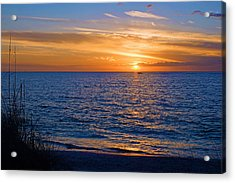 A Beautiful Sunset In Naples, Fl Acrylic Print