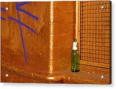 A Beer On The Side Acrylic Print by Jez C Self