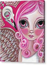 A Bird Friend Long Gone Acrylic Print by Jaz Higgins