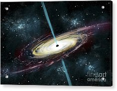 A Black Hole In Interstellar Space Acrylic Print
