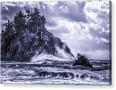 A Blustery Day Acrylic Print