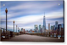 A Boardwalk In The City Acrylic Print