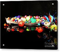 A Boatload Of Chihuli Acrylic Print