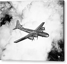 A Boeing B-29 Superfortress, Circa 1944 Acrylic Print