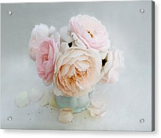 A Bouquet Of June Roses Acrylic Print
