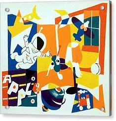 A Boys' Room Acrylic Print