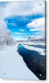 A Brand New Day Acrylic Print by Tor-Ivar Naess